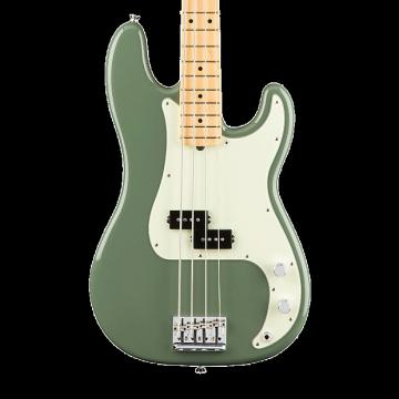 Custom Fender American Professional Precision Bass with Maple Fingerboard - Antique Olive with Case