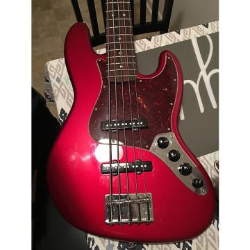 Custom Fender  Jazz deluxe 5 string  2015  (RED)