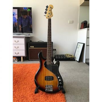 Custom Squier Deluxe Dimension Bass IV 2 Color Sunburst