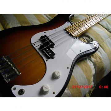 Custom Squier MIJ Bullet Bass Sunburst