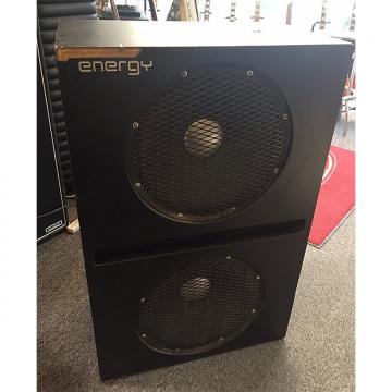 Custom Used Energy 2x15 Bass Cabinet W/ Road Case Owned by Stu Hamm