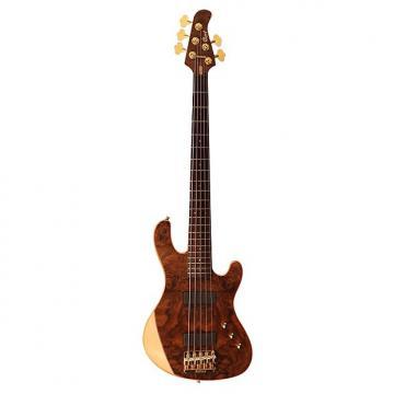 Custom Cort Jeff Berlin Signature Series Rithimic 5-String Electric Bass, Natural