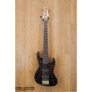 Custom Sadowsky NYC 5 String with a Redwood Top