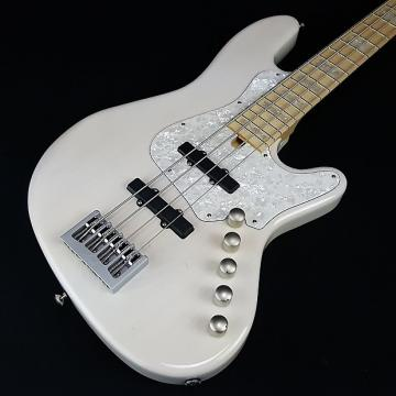 Custom Elrick Expat New Jazz Standard 4 String MaryKay White with Case