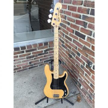 Custom Fender Precision Bass  1977 Natural Gloss with Maple Neck
