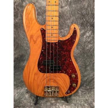 Custom Schecter P-bass 1980's Natural
