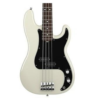 Custom Fender American Special Precision Bass Rosewood Neck White/Black