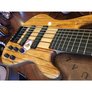 Custom Wolf 7 String Jazz 2016 Spalted Maple Gloss