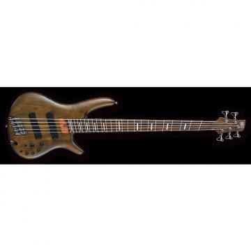 Custom Ibanez SRFF805WNF 2017 Walnut Flat Fanned Fret Five String Bass