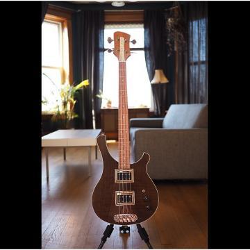 Custom Serek Basses Sacramento Short Scale Bass 2017 Natural Oil / Roasted Ash