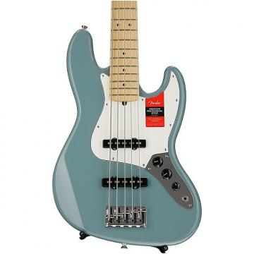 Custom Fender American Professional Jazz Bass V - Sonic Gray with Maple Fingerboard Demo