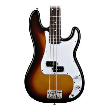 Custom Fender Mexican Standard P-Bass in Brown Sunburst (2011)
