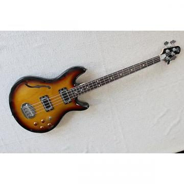 Custom Lakland Skyline Hollowbody Bass 2-tone burst