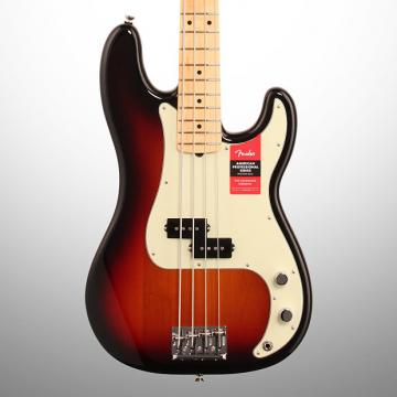 Custom Fender American Pro Precision Electric Bass, Maple Fingerboard (with Case), 3-Color Sunburst