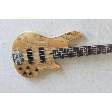 Custom Lakland Skyline 55-01 Deluxe Spalted Maple Spalted Maple