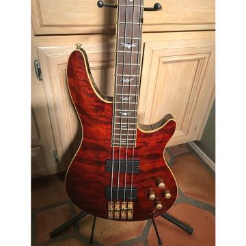 Custom Schecter C 4 Diamond Series 2004 Amber Red