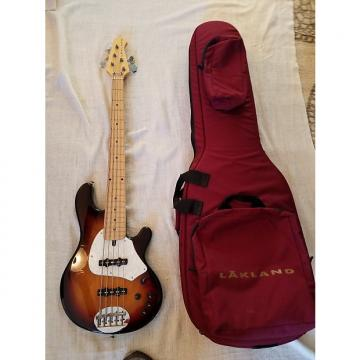 Custom Lakland 5 String Custom Jazz Bass (Three Tone Sunburst)