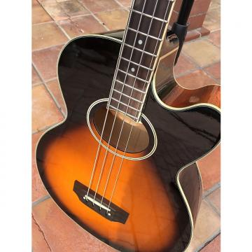 Custom Epiphone El capitan Acoustic Electric Bass Sunburst