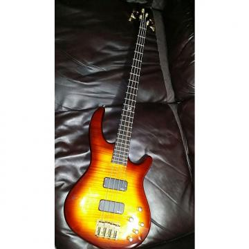 Custom Dean Edge PRO Bass 2013 Honey Burst Flame Maple