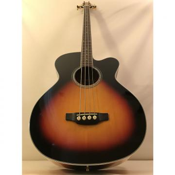 Custom Takamine GB72CE-BSB Acoustic/Electric Bass - Brown Sunburst