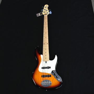 Custom Lakland Skyline 55-60  3 Tone Sunburst 5 String Bass
