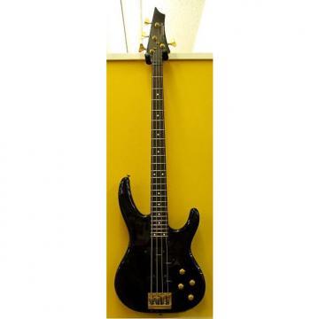 Custom Charvel CSB-070 Black & Gold