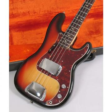 Custom Fender Precision Bass 1974 Sunburst Clean with Original Case