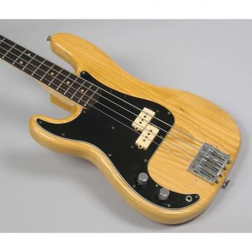 Custom Fender Precision Bass 1975 Natural Left Handed