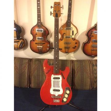 Custom Defil Lotos 1966 rare, made in Poland, Hagstrom Kent clone, plays fine, surf city