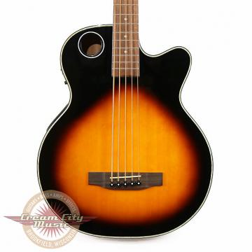 Custom Brand New Boulder Creek EBR1-TB5 Solitaire 5 String Cedar Acoustic Electric Bass in Sunburst