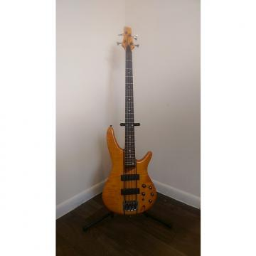 Custom Ibanez SR700 AM SR Series 4-String Bass 2012 Amber