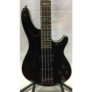 Custom Schecter Omen 4 Black Bass