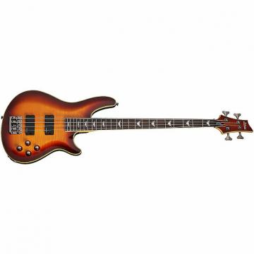 Custom Schecter Omen Extreme-4 Electric Bass Guitar Vintage Sunburst VSB *New* + FREE GIG BAG