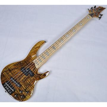 Custom ESP LTD RB-1005SM 5-String Electric Bass Guitar in Natural Finish