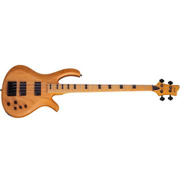 Custom Schecter Riot-4 Session Aged Natural Satin ANS NEW Bass + FREE GIG BAG Riot 4 Session-4