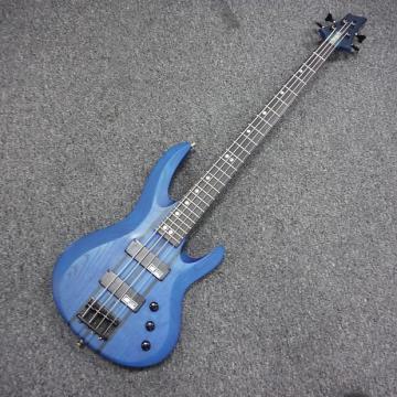 Custom Edwards E-BT-110B Bass Guitar Blue