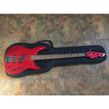 Custom Peavey Unity Series Electric Bass Guitar USA Red w/ Case