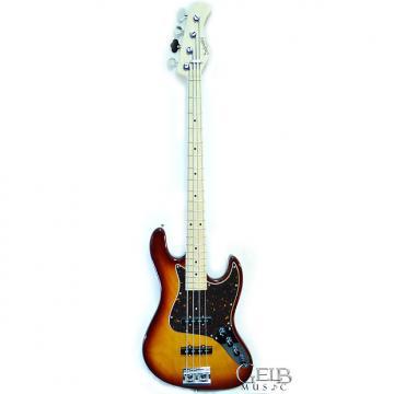 Custom Sadowsky MV4 Metro Vintage 4-Strings Electric Bass Guitar Ash Body, Dark Cherry Burst - MV4-DCB