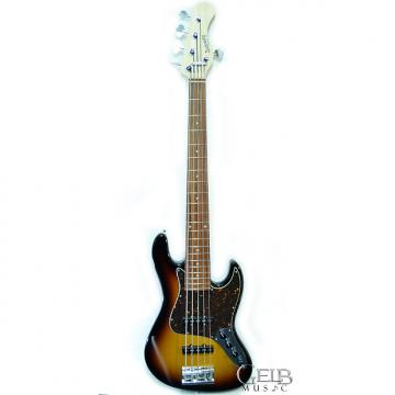 Custom Sadowsky RV5 59B Vintage Series 5 String Electric Bass, Alder Body 59 Burst - RV5-59B