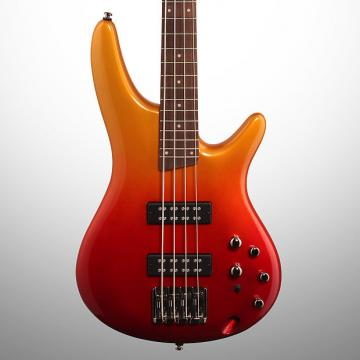 Custom Ibanez SR300E Electric Bass, Autumn Fade Metallic