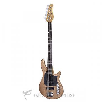Custom Schecter CV-5 Rosewood Fretboard Electric Bass Gloss Natural - 2493 - 815447023563