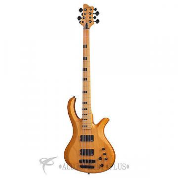 Custom Schecter Riot-8 Session Maple Fretboard  Electric Bass Aged Natural Satin - 2844 - 815447021439