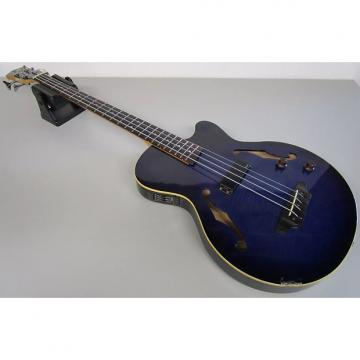 Custom Yamaha BEX4 Semi-Hollowbody Bass with Active Electronics and Piezo Under the Bridge,