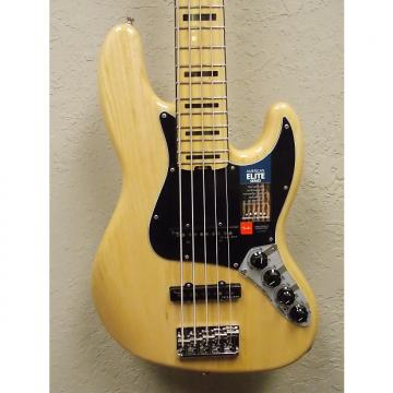 Custom Fender  American Elite Jazz Bass V Maple Fingerboard 2017 Natural
