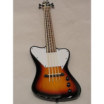 "Custom Savannah STB-700 Lightning Bass Travel Bass 32 3/4"" long Gloss Sunburst"
