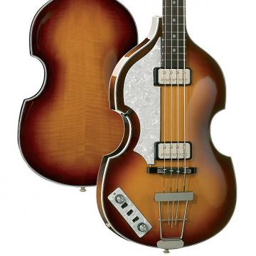 Custom Hofner HCT Violin Bass Lefthanded Sunburst