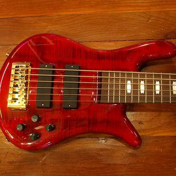 Custom Spector Euro 6LX Red Bartelloni Red Cherry Gloss / Shipping Insurance Included