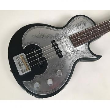 Custom Zemaitis Antanus Series Metal Front Bass Model A22B MF BK with Original Hardshell Case