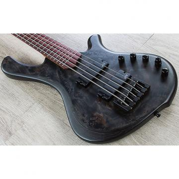 Custom Mayones BE Elite EP 5 - 5-String Electric Bass, Rosewood Fingerboard, Hard Case - Trans Black Satin