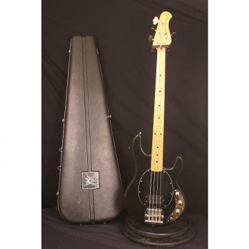 Custom 1979 Black Pre Ernie Ball Fender era Music Man Stingray bass guitar all original with Bullet case